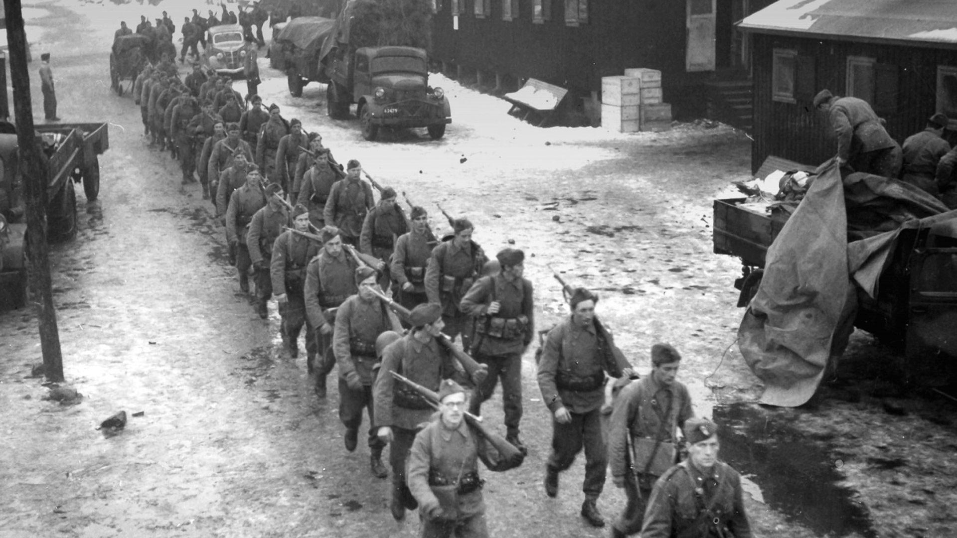 Militæret i mars under andre verdenskrig