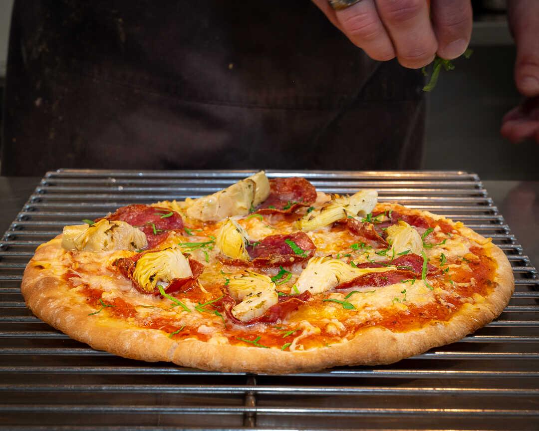 Pizzalaging på Voksenåsen