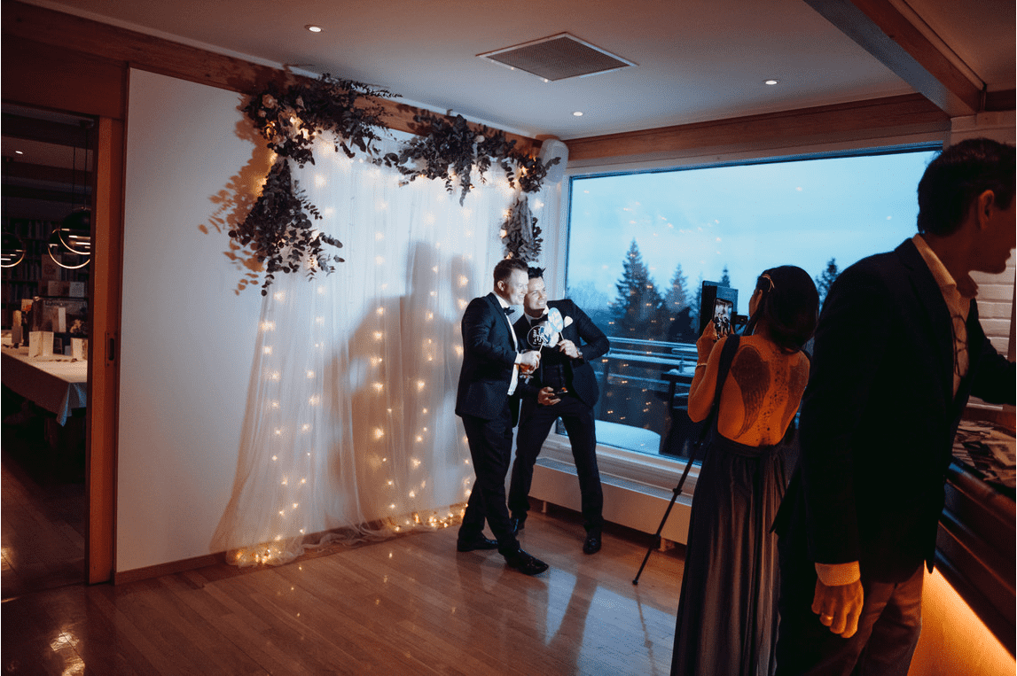 Photobooth til bryllup